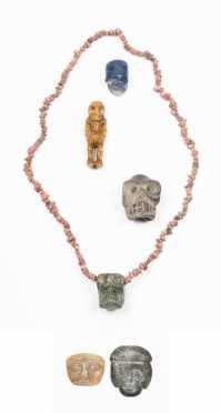 Six Pre Columbian Amulets