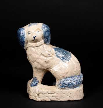 American Stoneware Spaniel Dog Figure