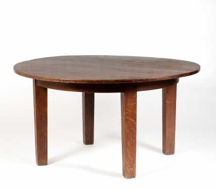 Gustav Stickley Dining Table