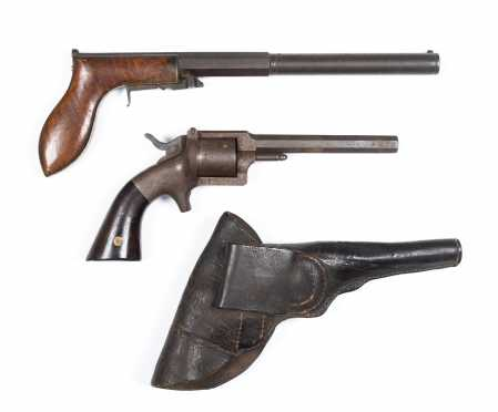 Two American 18thC Pistols