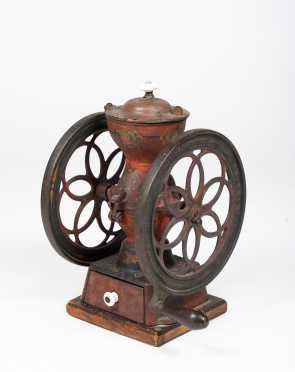 """Enterprise MFG Co"" Cast Iron Coffee Grinder"