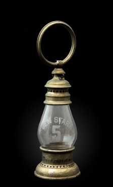 """Gen Stark #5"" Fireman's New Hampshire Lantern"
