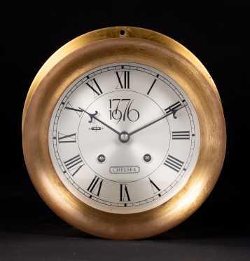 1776-1976 Chelsea Shipstrike Wall Clock