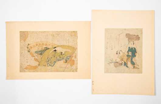 Two Japanese Block Prints