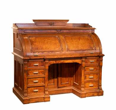 Firearms Manufacturer: William B. Ruger Sr.'s Personal Roll Top Desk