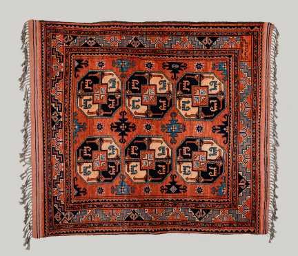 20thC Afghan-Ersari Hanging Oriental Rug