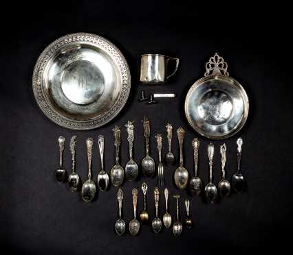 Lot of Sterling Silver