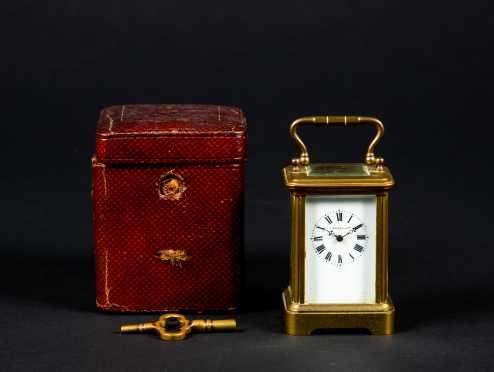 Tiffany & Co. Miniature Carriage Clock