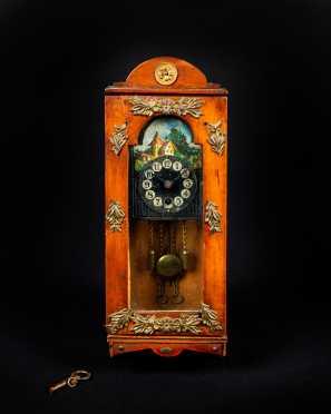 Miniature Continental Wall Clock