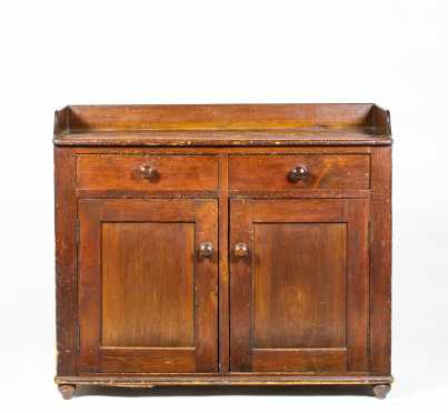 E19thC American Country Pine Server/ Sideboard