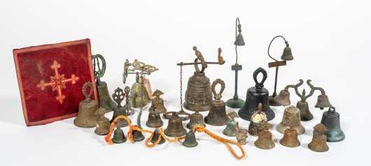 Large Lot of Southwestern Style Bells
