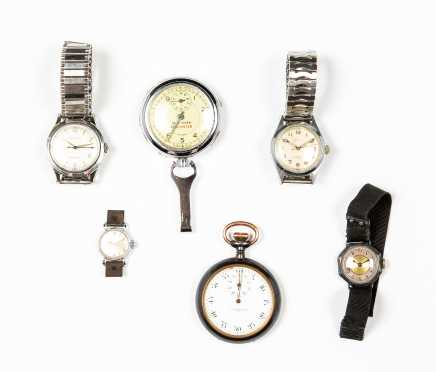 Lot of Pocket and Wrist Watches