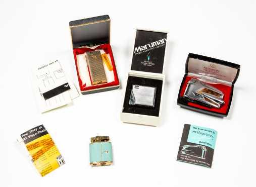 Lot of Four Cigarette Lighters