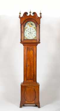 E19thC Pennsylvania Tall Case Clock