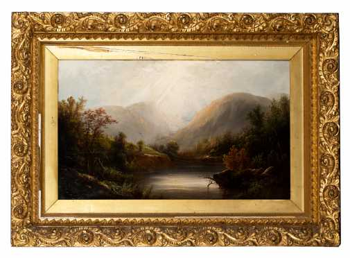 19th/20thC American/Canadian Mountainous Painting