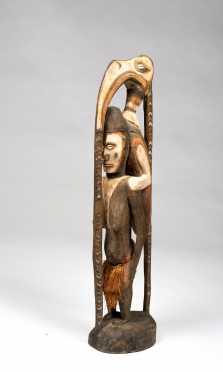 Iatmul Hornbill Figure