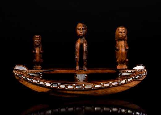Trobriand Islands, Papua, New Guinea Massim Carving