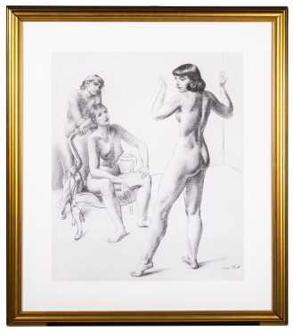 Leon Kroll, NY, New Mexico, Europe (1884- 1974)