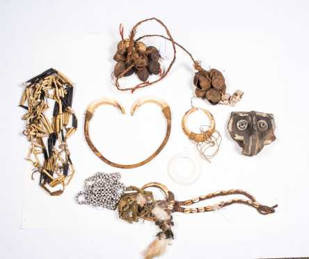 Large Lot of Trobriand Islands, Papua New Guinea Jewelry