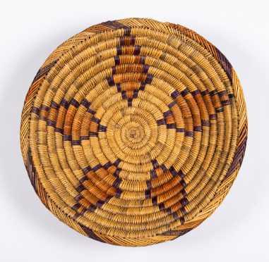 "Australian Aboriginal Woven ""Coil"" Basket"