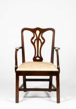 English Chippendale Mahogany Chair