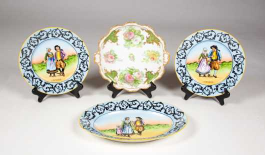 19thC Limoges Porcelain Lot