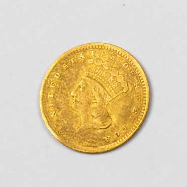 1856 $1 Gold Type 3