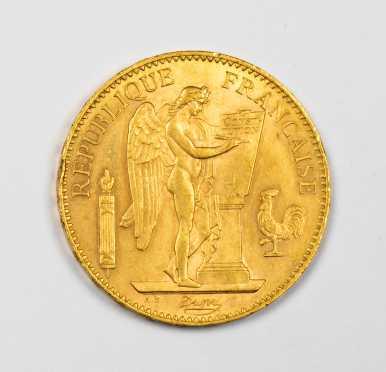 France 1906A 100 Francs Gold