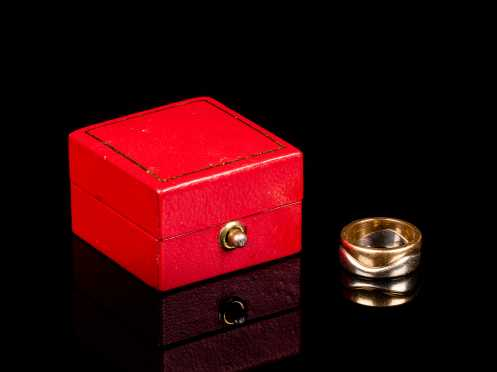 """Cartier """"La Bague"""" Love Puzzle Ring Set"""