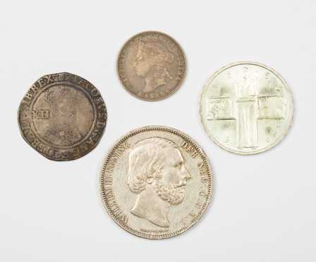 Lot of Four Coins