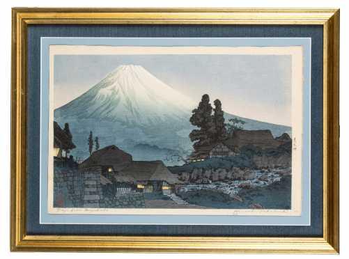 Japanese Block Print- Hiroaki Takahaski Shotei
