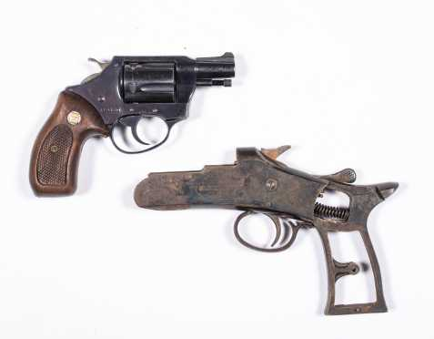 "Charter Arms ""Undercover"" .38 Special Revolver and Crescent Arms Receiver"