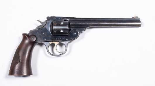 """Iver Johnson """"22 SUPERSHOT"""" .22 Caliber 7 Shot Revolver with Holster"""