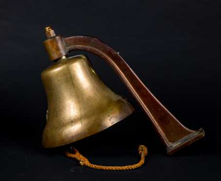 """US"" Naval Bronze Ships Bell"