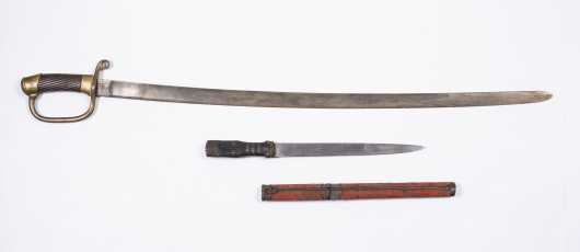 Persian Cavalry Saber and Chinese Dagger