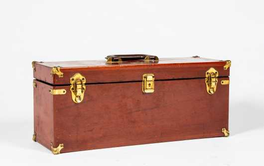"Abercrombie and Fitch Tackle Box ""Eastern States Handicap Champion"""