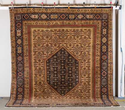 20thC Indian Senna Style Room Size Oriental Rug