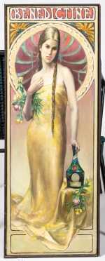 """Illustration Art """"Benedictine"""" Liqueur"""