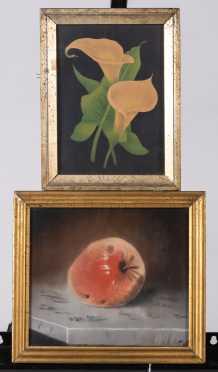 E.L. Tuttle, 1883 Pastel of an Apple