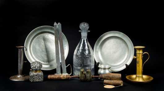 Ten 19thC Objects