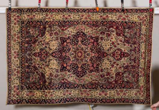 Kerman E20thC Oriental Scatter Rug