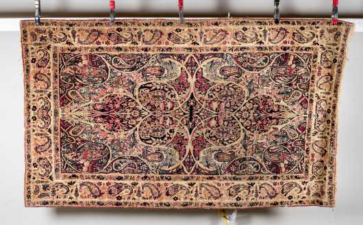 E20thC Kerman Oriental Scatter Size Rug