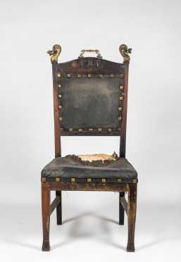 Continental Arts and Crafts Side Chair