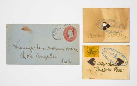 "Buffalo Bill Cody ""Wild West Show"" 1885 Souvenir Cards"