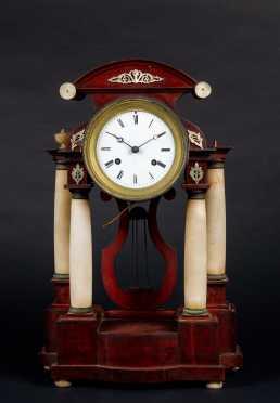 American Empire Shelf Clock