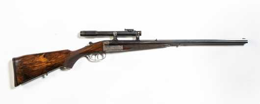 Pre-World War II Double Rifle by The Edward Kettner Company