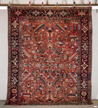 C1950-60 Heriz Room Size Oriental Rug