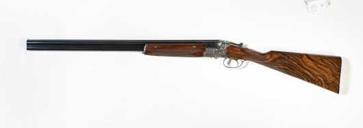 Pre-World War II Greifelt 20 Gauge Over/Under Shotgun with Two Stocks