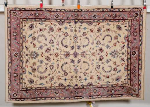 L20thC Indian Scatter Size Oriental Rug