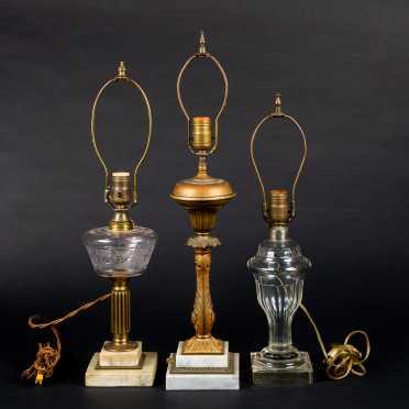 Three Fluid Lamps